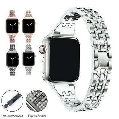 $ CDN5.17 • Buy Watch Band Stainless Steel Strap For Apple Watch IWatch Series SE/6/5/4/3/2/1