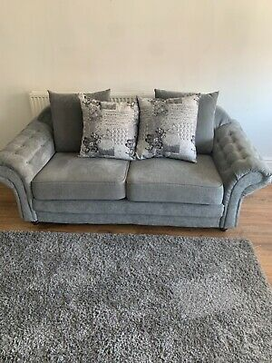 £500 • Buy 3 Piece Suite, 2 Seater, 3 Seater, 1 Swivel Hub Chair, Brand New, Flintshire CH6