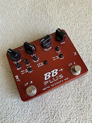 £149 • Buy Xotic Effects, BB Plus Overdrive, Excellent Condition