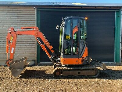 £19450 • Buy Hitachi Mini Digger, Zaxis 22U, 3 Ton Excavator, Low Hours *finance Available*