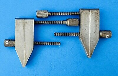 $20 • Buy  2  MACHINIST PARALLEL CLAMPS (100% TOOL ROOM QUALITY) Must See All Pic's