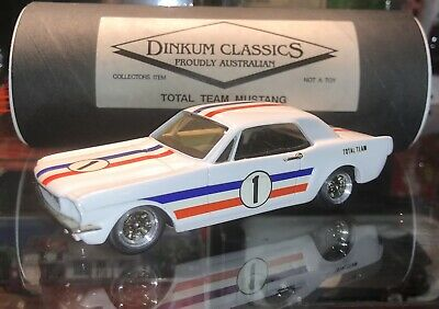 £68.20 • Buy Dinkum Classics 1966 Ford Mustang Pony Team Total #1 - 1:43 Scale