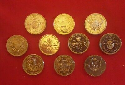 £38.31 • Buy 10x Old Style 2 Pound Coins Job Lot Circulated + Uncirculated , Utd Nations Etc