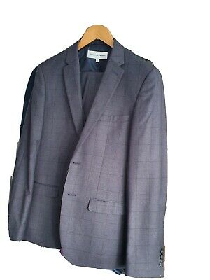£3.80 • Buy Suit, 3 Piece, Skinny Fit, Taylor & Wright. Grey