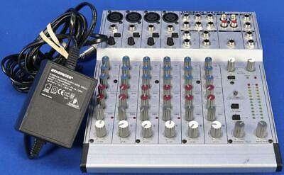 £57.50 • Buy Behringer Eurorack MX802A Compact Mixer Mixing Board W/ Power Supply