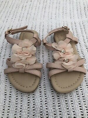 £1 • Buy Girls, Infant, Pink Sandals Size 7, Not Worn