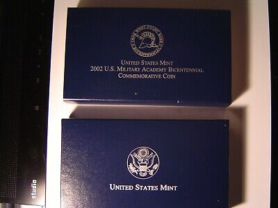 $20.99 • Buy 2002 U S Military Academy Bicentennial Commemorative Coin Proof Silver Dollar