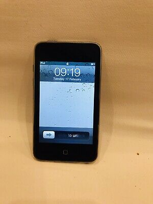 £12.80 • Buy ORIGINAL Apple IPod Touch 8GB 2nd Generation MB528BT Factory Reset WORKING