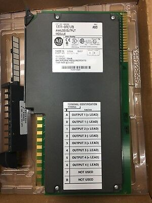 $355 • Buy New 2007 1771-OFE1 PLC-5 Analog Output Card 4 Channel Selectable Voltage Ranges
