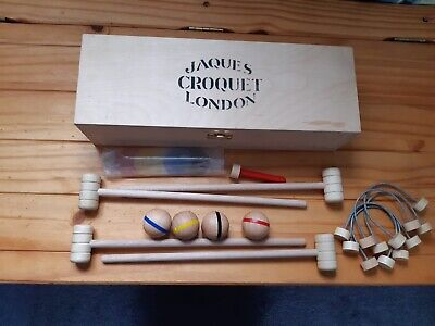 £9.99 • Buy JAQUES Indoor Croquet Set. Very Good Used Condition.