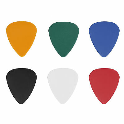 $ CDN6.34 • Buy 100Pcs Guitar Pick Colorful Plastic Finger Protection 0.46mm For Music Lovers