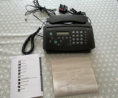 £30 • Buy Vintage Philips Fax And Telephone Machine Model HFC171 Rare Model HFC 171-05
