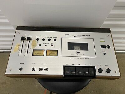 £54.55 • Buy Akai GXC-39D Stereo Cassette Deck Dolby System Untested