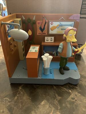 $19 • Buy THE SIMPSONS WOS PLAYSET MILITARY ANTIQUE SHOP & HERMAN Playmate