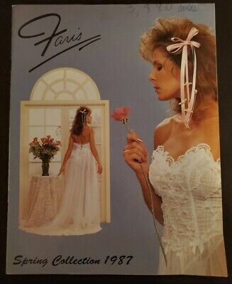 $29.99 • Buy Faris Brothers Of California 1987 Spring Collection Lingerie Catalog Very HTF