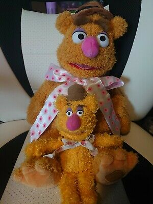 £9.80 • Buy Fozzie Bear Muppets Official Disney Store  Plush Soft Toy 16