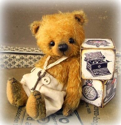 £32.50 • Buy Sewing Kit For 7 Inch Mohair Bear, Incl. Ready Made Trousers & Ribbon & Key