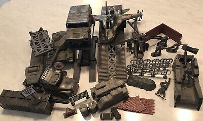 $22.22 • Buy Vintage Lot 36 Piece Boley US Military Toy Play Set 1998 Soldiers Rocket  Tank