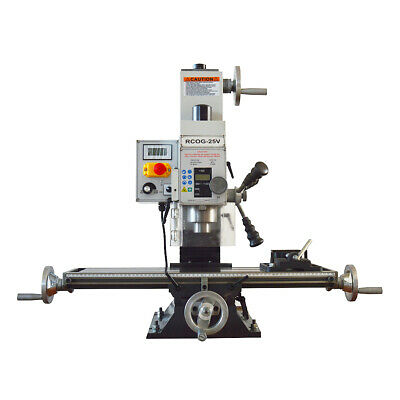$1999 • Buy RCOG-25V Precision Mill/Drill Bench Top Mill And Drilling Machine 110V 27*7