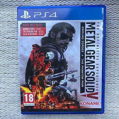 £4 • Buy Metal Gear Solid Ground Zeros And The Phantom Pain PS4 Game No Scratches