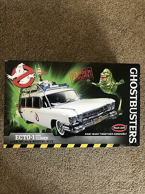 £17.90 • Buy Ghostbusters Ecto 1 With Slimer Scale Model Kit