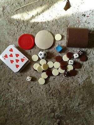 £3 • Buy Fuseball 9 In 1 Cards 4 Dice Shaker & Markers