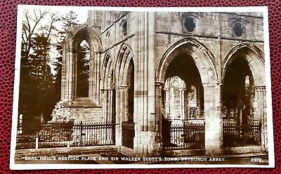 £3.20 • Buy Earl Haig's Resting Place And Sir Walter Scott's Tomb Dryburgh Abby  Scotland