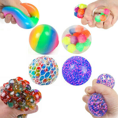AU25.88 • Buy 4Pack DNA Stress Ball Squishy Squeeze Fidget Sensory Toys Kids Hand Anti-Anxiety