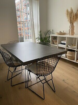 £350 • Buy Metal Leg Dinning Room Table With 4x Chairs