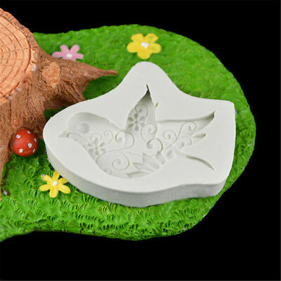 £4.37 • Buy Food-grade Dove Of Peace Shape Resin Mold Mould Silicone Fondant Cake DecorTMPT