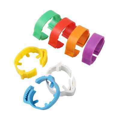 £6.99 • Buy 14 Adjustable Poultry Leg Rings 20 - 24mm  For Large Chicken Ducks Geese Turkey
