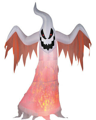 $ CDN137.92 • Buy Halloween Gemmy Inflatable Airblown 7 Ft Projection Kaleidoscope ScArY GHOST BN