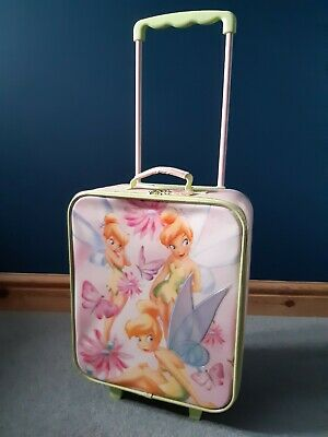£4.99 • Buy Disney Tinker Bell Cabin Trolley Case Wheeled Girls Bag Suitcase Hand Luggage