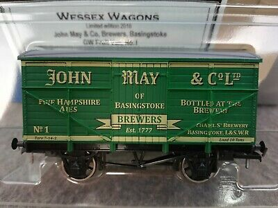 £35.95 • Buy Dapol Limited Edition Wagon John May Brewery Basingstoke LSWR Wessex+ Cert