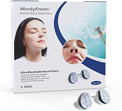 £22.81 • Buy WoodyKnows Ultra-Breathable Nasal Filters