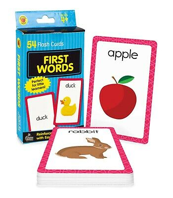 £3.65 • Buy Baby Book First Words Picture Flash Cards Kids Educational Pre School Learning