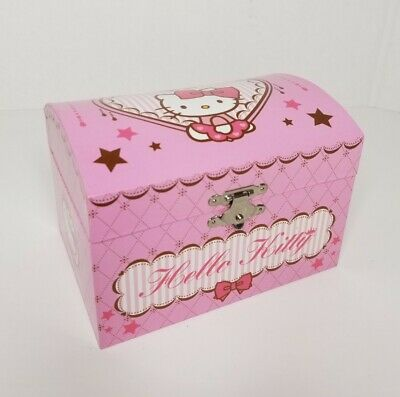£14.54 • Buy Hello Kitty By Sanrio Music Jewelry Box, In Very Good Condition.