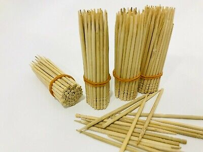 £2.72 • Buy Toothpicks Oral Care 2mm Thick Cocktail Picks Safe Wooden Bamboo Round Bulk