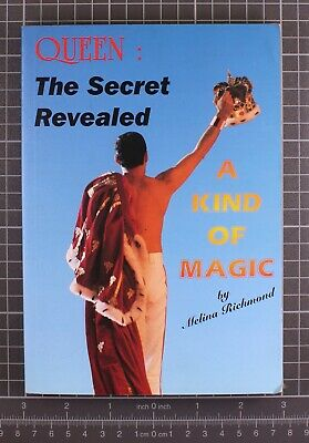 £30 • Buy Queen Freddie Mercury A Kind Of Magic First Edition Signed By The Author 1997