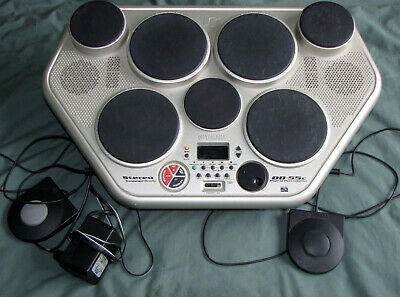 £75 • Buy Yamaha DD55 Electronic 7 Pad Drum Machine Including Stand