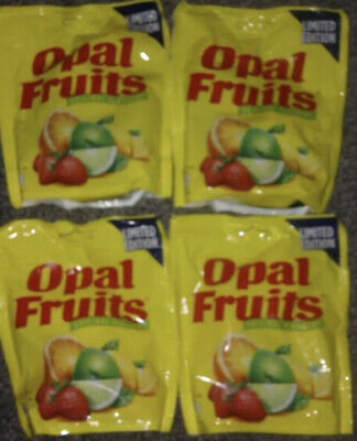 £13.99 • Buy Opal Fruits Retro Sweets 4 X 152g Packs Limited Edition