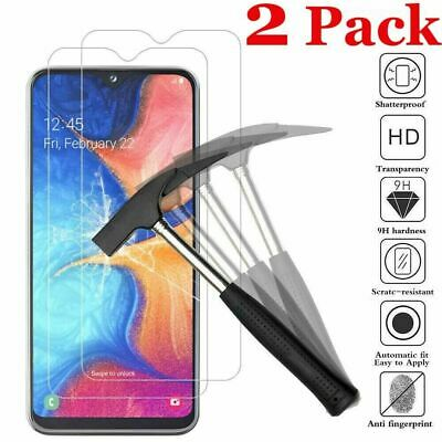£2.49 • Buy 2 X TEMPERED GLASS SCREEN PROTECTOR For Samsung S21 FE J7PRIME 2 A12 A52 S20FE
