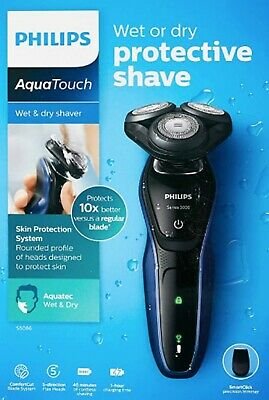 AU119.95 • Buy Philips Series 5000 S5086/ 06 Wet Dry Electric Shaver Trimmer Cordless Precision