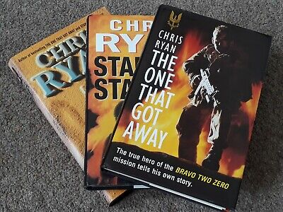 £25 • Buy The One That Got Away + Stand By Stand By + Zero Option - Chris Ryan  - 1 Signed
