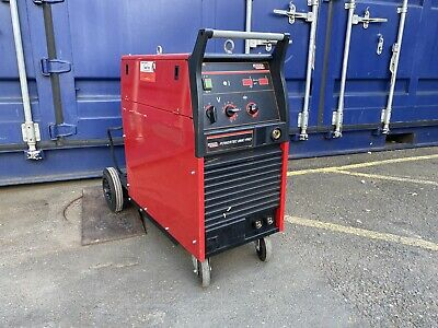 £1440 • Buy Lincoln Powertec 280c Pro 300amp Compact Mig Welder 415v 3 Phase