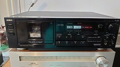 £149 • Buy Aiwa AD-F800 Stereo Cassette Deck