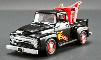 £11.99 • Buy 1:64 Scale ACME 51248 Ford F-100 Pickup With Wrecker - Black With Flames - BNIP