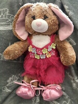 £14.99 • Buy Build A Bear Rabbit/Bunny Dressed In Lovely Summer Dress Pants And Satin Shoes