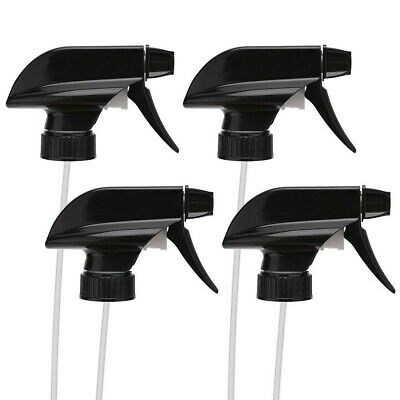 £5.33 • Buy 4PCS Spray Bottle Trigger Nozzle Replacement Plastic Sprayer Head For Glass