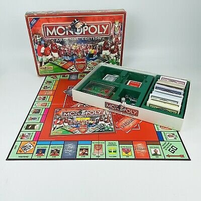 £14.99 • Buy Monopoly Arsenal Edition By Hasbro 2002 The Property Trading Board Game